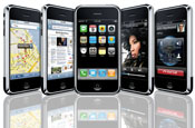 Apple iPhone app downloads top two billion