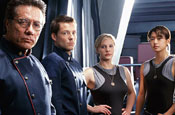 United Nations talks war and peace with Battlestar Galactica