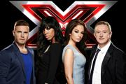 X Factor UK tops BR app chart