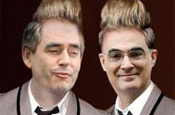 BR Video: Public unimpressed by politicised Jedward posters