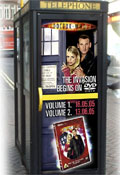 Doctor Who transforms phone boxes into Tardises in DVD push
