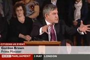 Last-minute digital surge for Labour as Brown is hit on YouTube