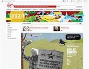 Virgin's internal magazine Roger published by John Brown goes online