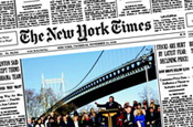 New York Times family keep faith as dividend is cut 74%