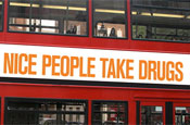 Drug ads pulled from buses despite zero public complaints
