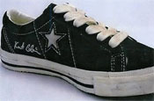 Converse follows Sid Vicious ad with Kurt Cobain shoe