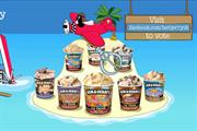Ben & Jerry's rolls out 'dessert island' Facebook campaign
