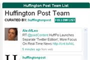 Huffington Post launches Twitter edition