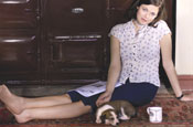 McCartney shoots celebrities for Aga campaign