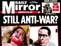 Mirror remains anti-war despite fears about circulation