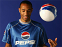 Pepsi bags another football hero with Thierry Henry deal