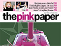 Pink Paper closes as it fails to cash in on the gay pound