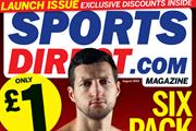 Sportsdirect.com fitness title readies store and newsagent launch