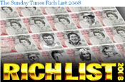 Sunday Times takes Rich List online with four-year sponsorship