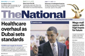UAE's The National launches Saturday edition
