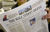 Thomson takes top editorial role at Wall Street Journal