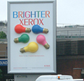 Xerox targets airports for outdoor 3D campaign