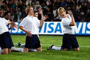 Visa Europe 'football evolution' by Saatchi & Saatchi London
