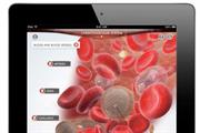 Dorling Kindersley 'Human Body app' by AKQA