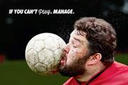 "The Sun ""if you can't play, manage"" by Grey London"