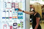 Tesco: installs a virtual fridge at Gatwick