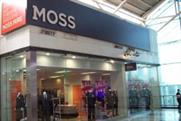 Moss Bros: to sell Hugo Boss branded stores