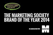 Marketing Society: Brand of the Year 2014