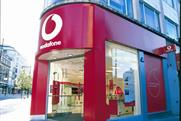 Vodafone's crossed lines