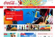 Coca-Cola UK: new website
