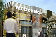 McDonald's: artist's impression of the London 2012 restaurant