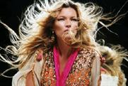 Kate Moss: stars in Swarovski 3D ad