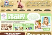 PIG'nic Society: digital drive on behalf of British pig farmers