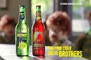 Brothers: £2.75m campaign backing its range of ciders