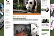Lynx Attract: promotes product on live feed from Edinburgh Zoo's panda cam