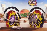 Cadbury Creme Egg irreverence with the Games theme is a welcome change