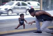 Evian: using dancing babies again