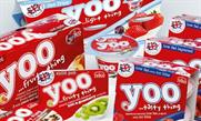 Tesco: launched Yoo yogurt last month
