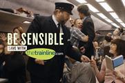 Thetrainline.com: new campaign without Black Lace