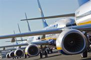 Ryanair: plans to carry advertising on its boarding cards