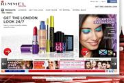 Rimmellondon.com: relaunched with new design by JWT London