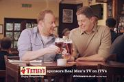 Tetley's: revamps ITV4 idents