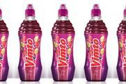 Vimto: updates bottle design