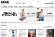 Asos: launches Fashion Finder