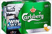 Carlsberg: partners Sky for on-pack promotion