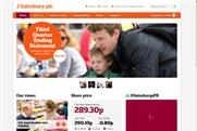 Sainsbury's: boosting its social media efforts