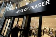 House of Fraser: relaunches website