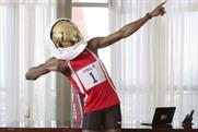 Usain Bolt: stars in Virgin Media TV campaign