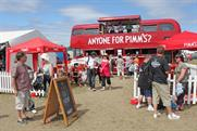 Pimm's: hopes to cash in on Royal Wedding with branded bunting