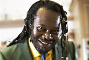 Levi Roots: backing sauces with TV push