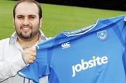 Portsmouth FC signs shirt sponsorship deal with Jobsite.co.uk